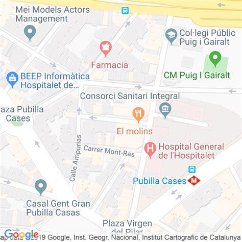 Código Postal calle Emporda en Hospitalet de Llobregat,l ...