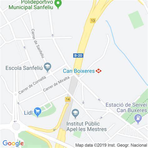 Código Postal calle Estronci en Hospitalet de Llobregat,l ...