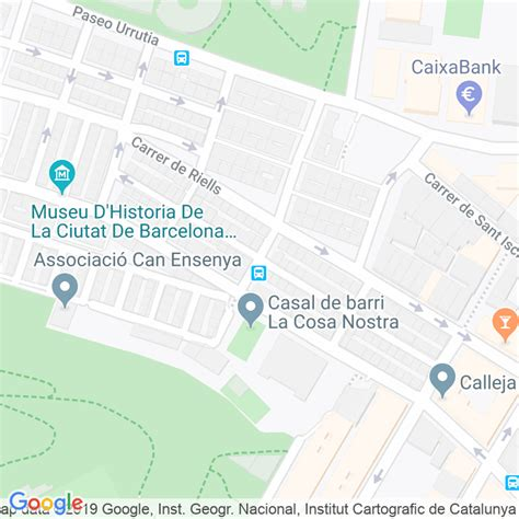 Código Postal calle Fonteta en Barcelona   Codigopostalde.es