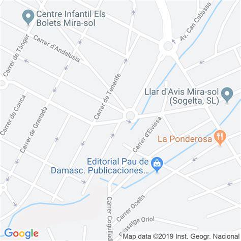 Código Postal calle Fuerteventura, carrer en Sant Cugat ...