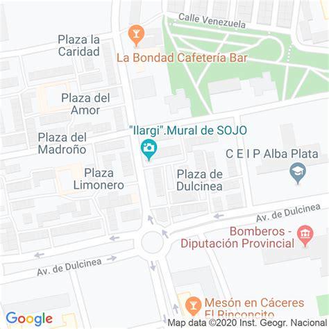 Código Postal calle Fuerteventura en Cáceres ...