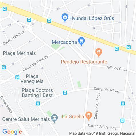 Código Postal calle Fuerteventura en Sabadell ...