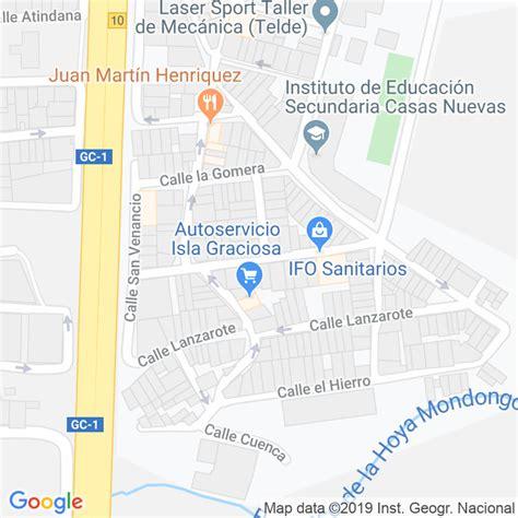 Código Postal calle Fuerteventura en Telde   Codigopostalde.es