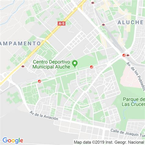 Código Postal calle General Fanjul, avenida en Madrid ...
