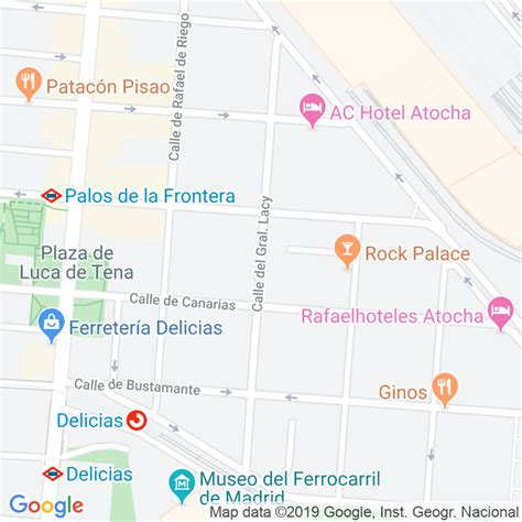 Código Postal calle General Lacy en Madrid   Codigopostalde.es
