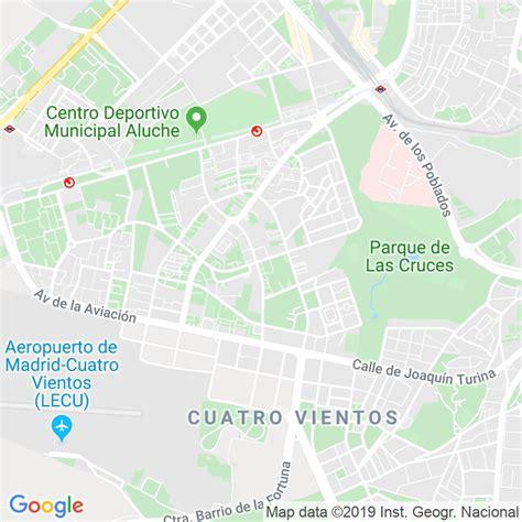 Código Postal calle General Romero Basart en Madrid ...