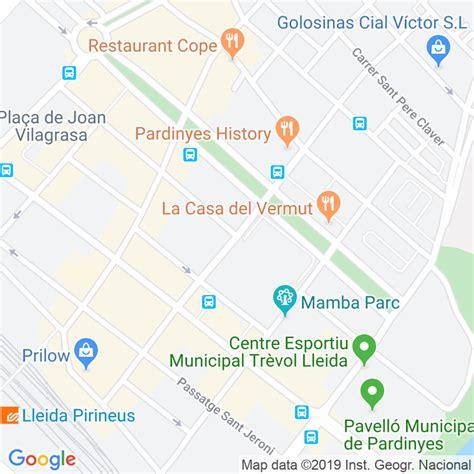 Código Postal calle Girona en Lleida   Codigopostalde.es