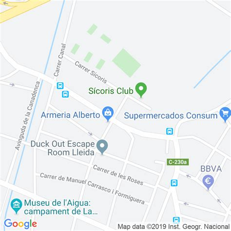 Código Postal calle Goya en Lleida   Codigopostalde.es