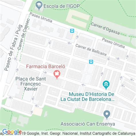 Código Postal calle Hostalric en Barcelona   Codigopostalde.es