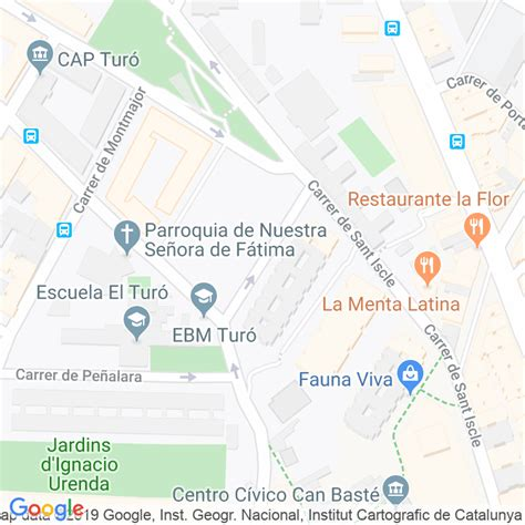 Código Postal calle Inca en Barcelona   Codigopostalde.es