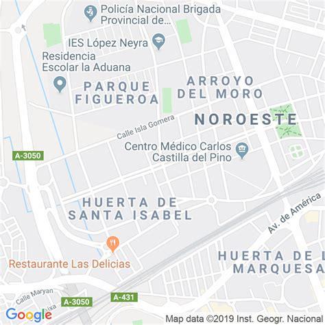 Código Postal calle Isla Fuerteventura en Córdoba ...