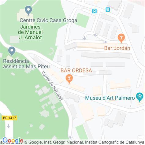 Código Postal calle Lledoner, Del, porta en Barcelona ...