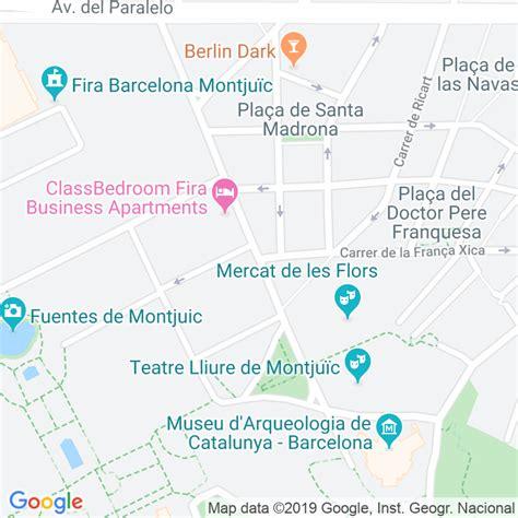 Código Postal calle Lleida en Barcelona   Codigopostalde.es