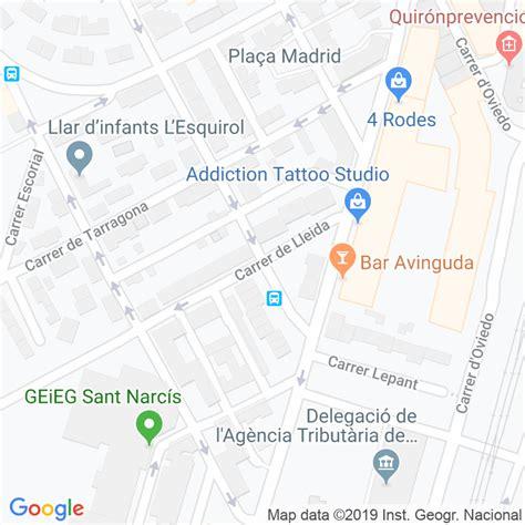 Código Postal calle Lleida en Girona   Codigopostalde.es