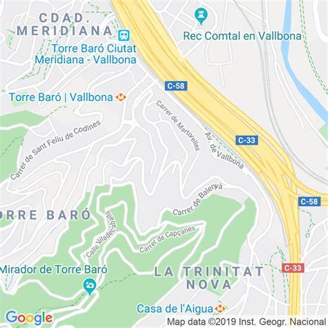 Código Postal calle Llerona en Barcelona   Codigopostalde.es