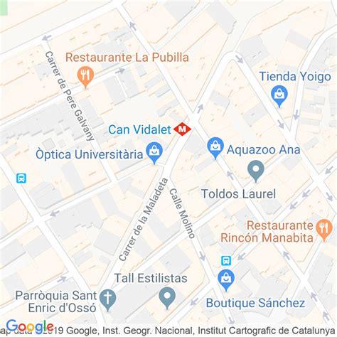 Código Postal calle Maladeta en Hospitalet de Llobregat,l ...