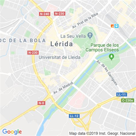 Código Postal calle Maranyosa en Lleida   Codigopostalde.es