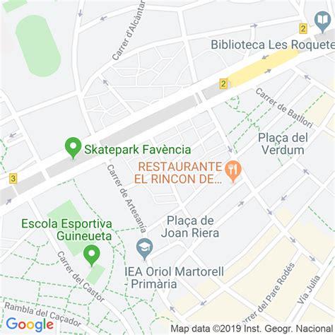 Código Postal calle Marin en Barcelona   Codigopostalde.es