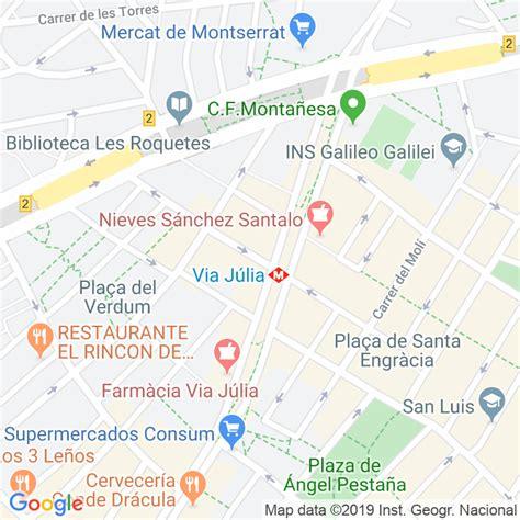 Código Postal calle Mas Duran  Impares Del 31 Al Final ...