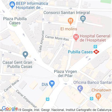 Código Postal calle Mestre Serrano en Hospitalet de ...