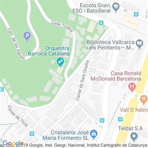 Código Postal calle Navata en Barcelona   Codigopostalde.es