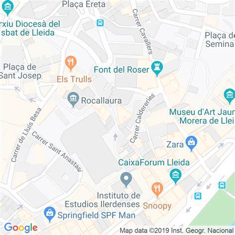 Código Postal calle Palma, La en Lleida   Codigopostalde.es