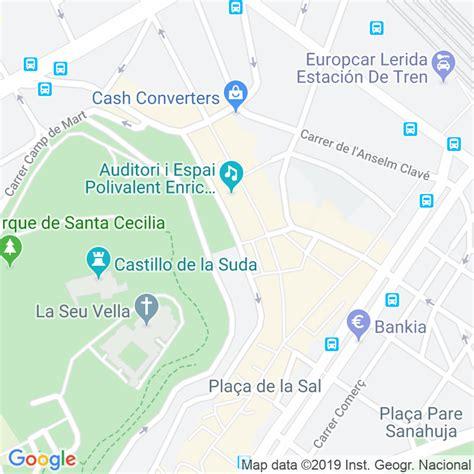 Código Postal calle Parra, La en Lleida   Codigopostalde.es