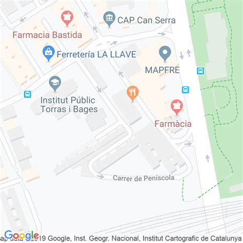 Código Postal calle Peñiscola en Hospitalet de Llobregat,l ...