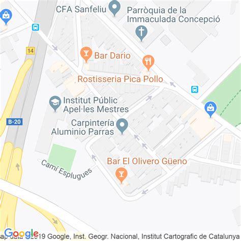 Código Postal calle Poeta Llombart en Hospitalet de ...