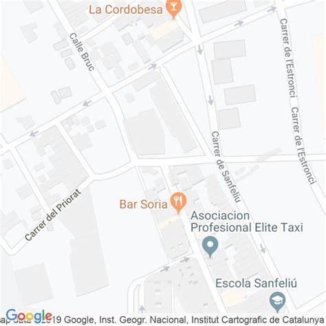 Código Postal calle Pompeu Fabra en Hospitalet de ...