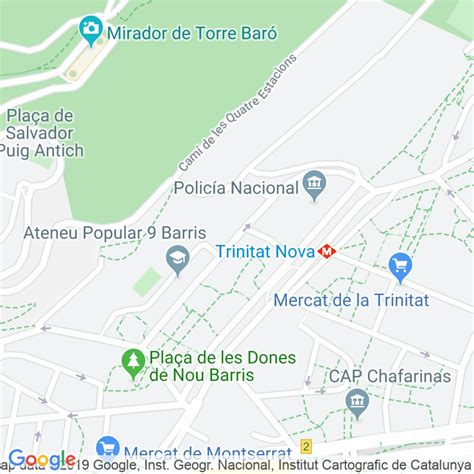 Código Postal calle Portlligat en Barcelona ...