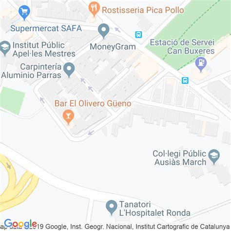 Código Postal calle Rei En Jaume en Hospitalet de ...