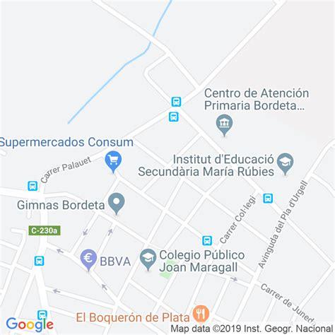 Código Postal calle Reus en Lleida   Codigopostalde.es