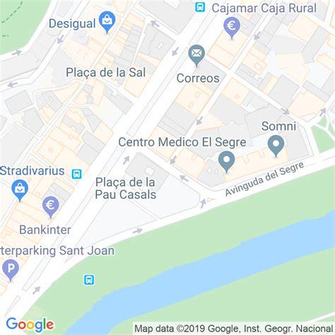 Código Postal calle Riquer en Lleida   Codigopostalde.es
