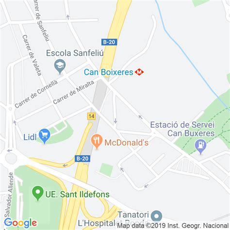 Código Postal calle Rubidi en Hospitalet de Llobregat,l ...