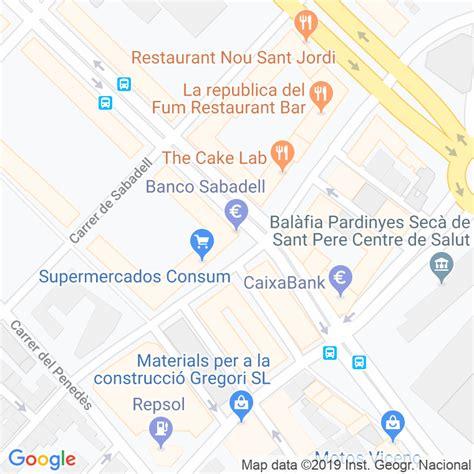 Código Postal calle Sabadell, De en Lleida   Codigopostalde.es