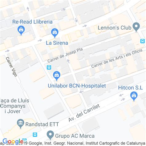 Código Postal calle Sant Antoni en Hospitalet de Llobregat ...