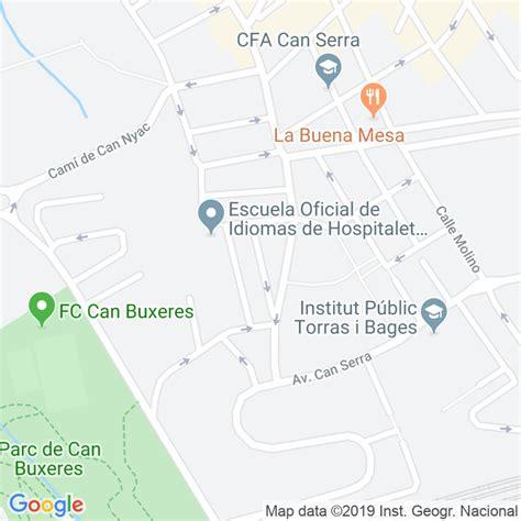 Código Postal calle Sant Pere en Hospitalet de Llobregat,l ...