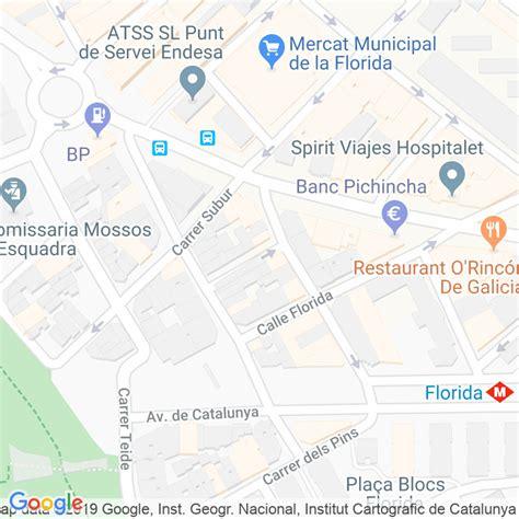 Código Postal calle Sant Ramon en Hospitalet de Llobregat ...