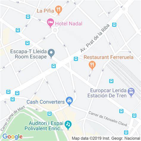 Código Postal calle Sant Ruf en Lleida   Codigopostalde.es