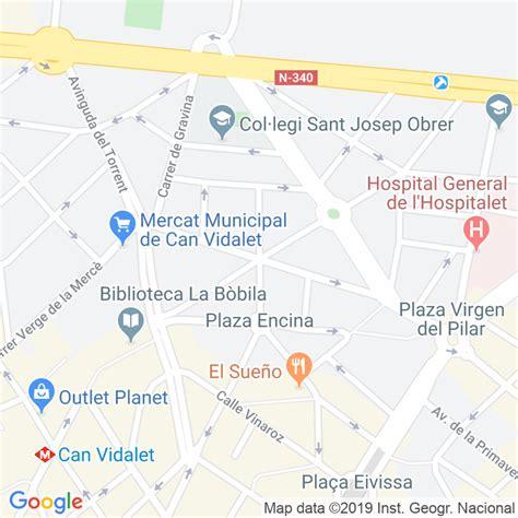 Código Postal calle Simancas en Hospitalet de Llobregat,l ...