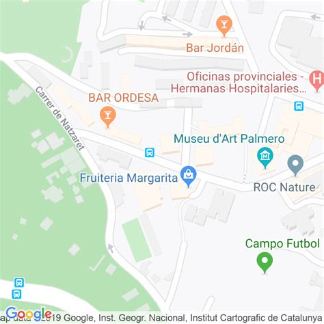 Código Postal calle Sinai en Barcelona   Codigopostalde.es