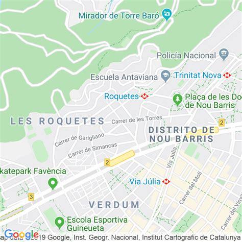 Código Postal calle Torres, De Les  Els Nou Barris  en ...