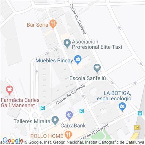 Código Postal calle Valeta en Hospitalet de Llobregat,l ...
