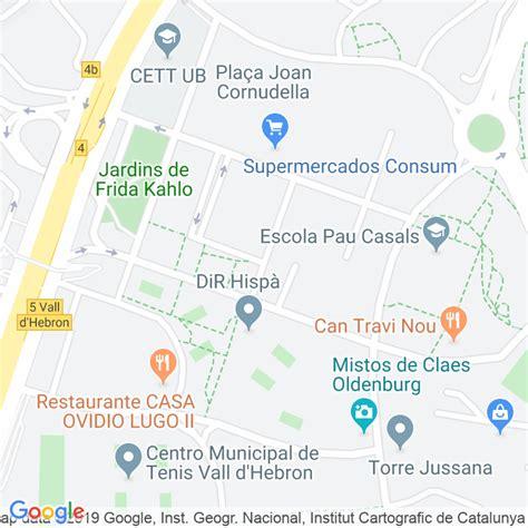 Código Postal calle Ventura Rodriguez en Barcelona ...