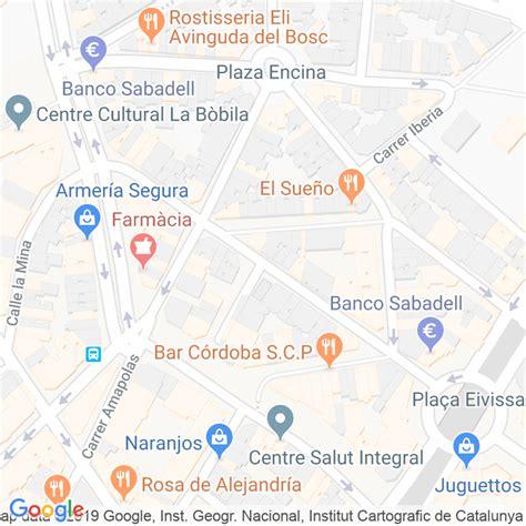 Código Postal calle Vinaros en Hospitalet de Llobregat,l ...