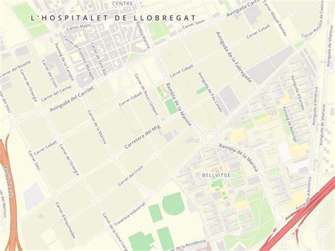 Código postal de Carretera Mig en L Hospitalet De Llobregat