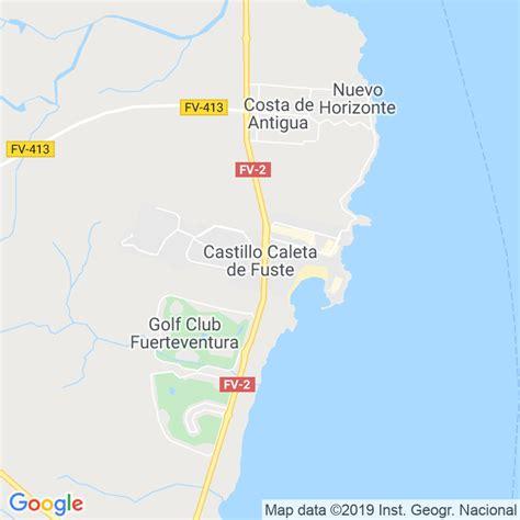 Código Postal de Castillo, El  Antigua  en Las Palmas ...
