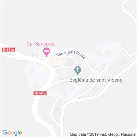 Código Postal de Conill en Lleida   Codigopostalde.es