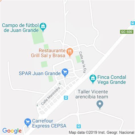Código Postal de Juan Grande en Las Palmas   Codigopostalde.es